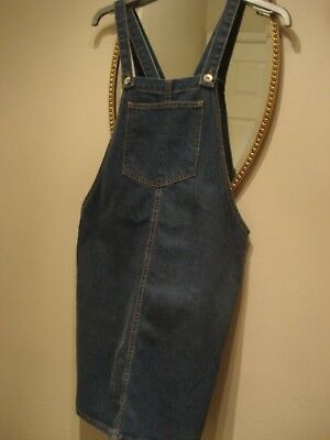 NEW LOOK Denim Pinafore Dress Aged 14 Years