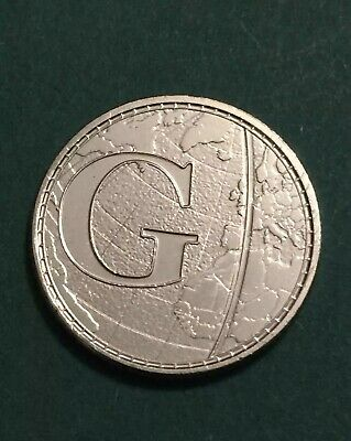 Rare 2018 Alphabet A-Z 10p Ten Pence Coin G -Greenwich Mean Time From Sealed Bag