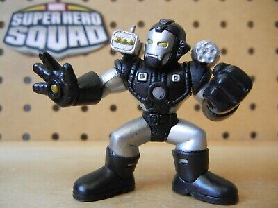 Marvel Super Hero Squad TITANIUM MAN Yellow Eyes from Iron Man Wave 1 Face Off