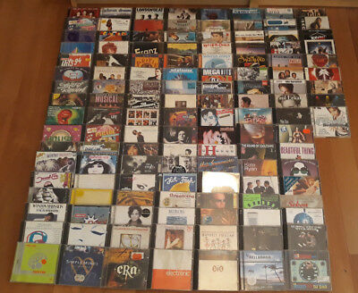 205 CDs CD Sammlung 80s 90s RAR Electronic POP ROCK OST MAXI Compilations