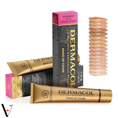 Dermacol Make-up Cover Legendary High Covering Foundation Makeup *GENUINE*