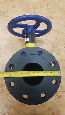 "3"" Saunders Valve Hard Rubber Lined 200mm Flange -10 to 85°C. Manufactured 2018"