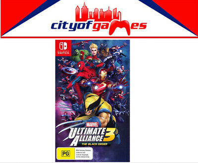 Marvel Ultimate Alliance 3: The Black Order Switch Game Brand New In Stock