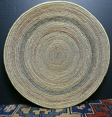 Antique Paiute Native American Willow Basket/Bowl Concentric Circles LARGE