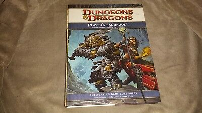 Dungeons & Dragons Player's Handbook Core Rules - Hard Cover - 2008