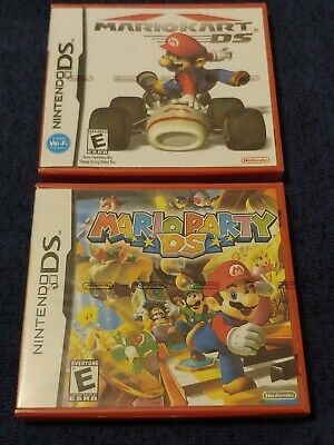 FACTORY SEALED Nintendo Ds Mario Kart and Mario Party. 3DS Nintendo DS NES