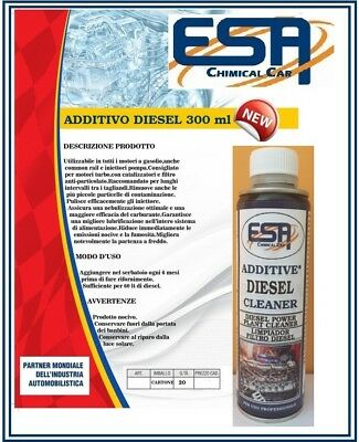Additivo Carburante Diesel 20 Pezzi 300 Ml Super Pulitore  Professionale