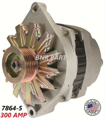 300 AMP 7864-5 Alternator Chevy Buick Cadillac Pontiac High Output NEW HD