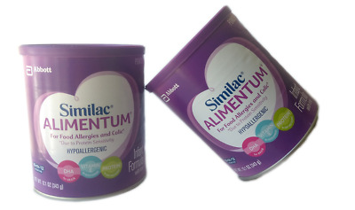 2PK Similac Alimentum For Food Allergies and Colic Hypoallergenic Infant Formula