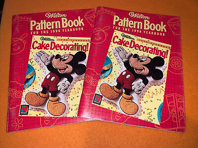 Wilton Pattern Book for the 1996 Yearbook Cake Decorating
