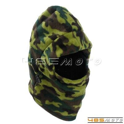 1x Outdoor Winter Warm Full Face Fleece Hood Ski Mask Beanie Hat Neck Balaclava