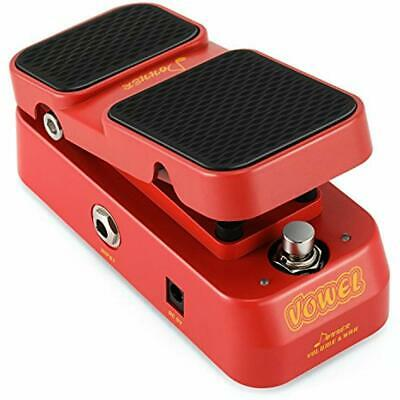 2 In 1 Vowel Mini Active Wah Volume Effect Guitar Pedal Musical Instruments