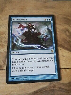 Blue Conspiracy Mtg Magic Rare 4x x4 4 Misdirection