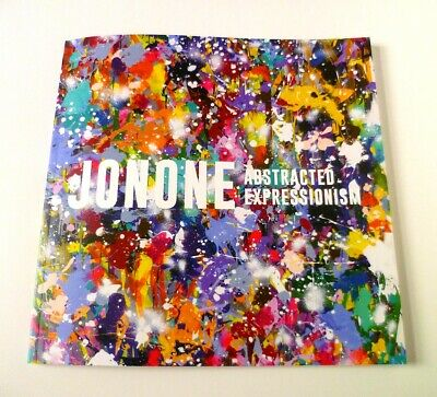 JONONE SIGNED Catalogue ABSTRACTED EXPRESSIONISM Brussels Exhibitions RARE 2019