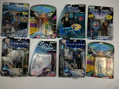 Collection New generation star trek boxed figures bundle