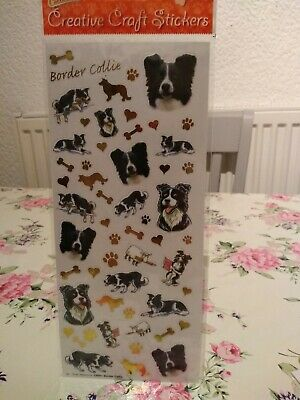 Border Collie craft stickers