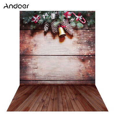 Andoer 1.5 * 2m Photography Background Backdrop Digital Printing Christmas M5F9