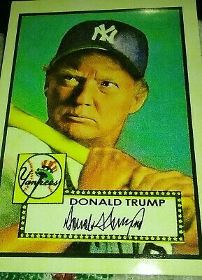 Donald Trump Upper Deck Style Card ACEO USA