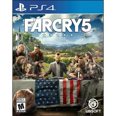 Far Cry 5 PS4 Game Playstation 4 BRAND NEW SEALED AU FREE SHIPPING