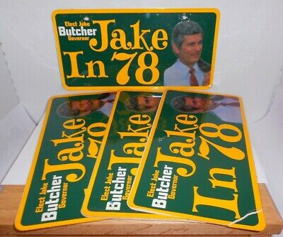 Jake In 78' License Plate and Stickers Lot