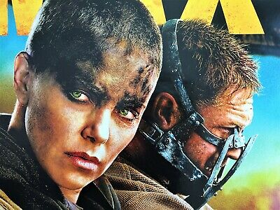 Mad Max Fury Road - Original DS Movie Poster D/S 27x40 Charlize Theron Tom Hardy
