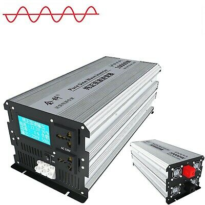 Intelligent Pure Sine Wave Inverter DC 12V/24V/48V to AC 110V/220V 3000W-10000W