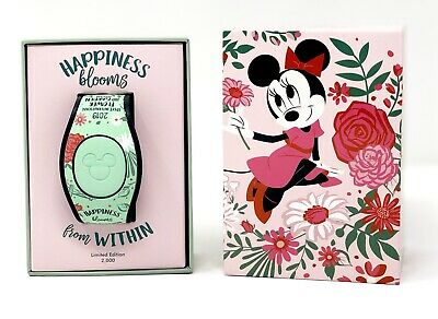 Disney Epcot Flower And Garden 2019 Minnie Mouse Magic Band MagicBand LE 2000
