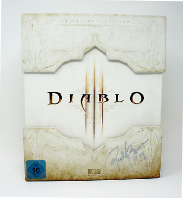 Diablo 3 Collectors Edition D3 Sammler - Signed Brower RARE Leerbox  EMPTY