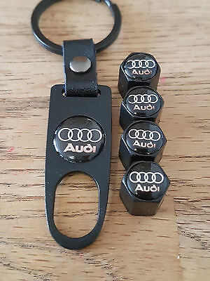 AUDI RS5 BLUE DUST VALVE CAPS SPANNER LIMITED ALL MODELS RETAIL PACKED RS S LINE