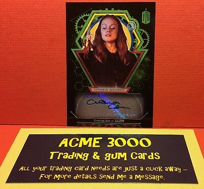 Topps Doctor Who Extraterrestrial Encounters CHRISTINA COLE as Lilith 34/50