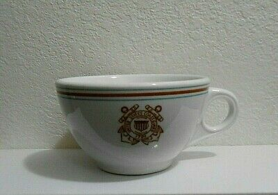 Vintage United States Coast Guard cup restaurant ware, Mayer China #264-end soon