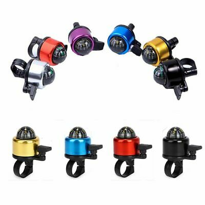 Aluminum Alloy Ultra-loud Bicycle Bell Ring-down Compass Horn Bikes Alarm Ring