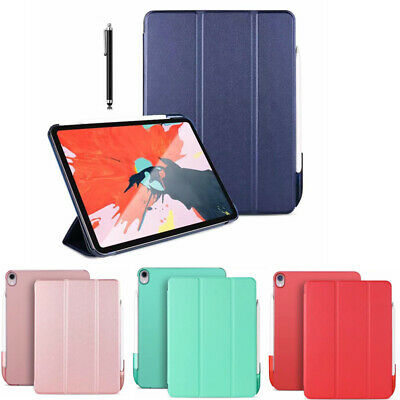 Shockproof Flip PU Leather Book Hard Cover Case Stand For Apple iPad Pro 11 2018