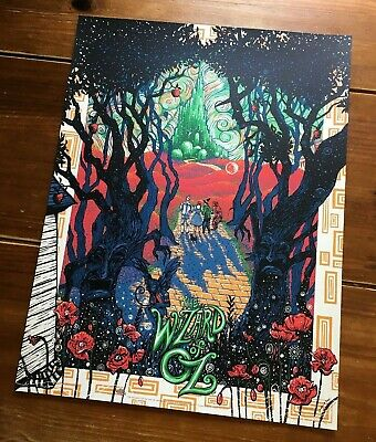 """Wizard Of Oz"" Artist-James Eads (Standard) Edition! Artist Signed! $75 Obo!!"
