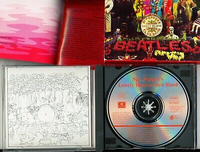 Beatles Sgt Pepper's Lonely Hearts Club Band 1987 20th Anniversary CD EX