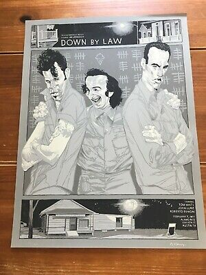 """Down By Law""  Artist-Rich Kelly  2011 Lim Edn Artist Signed Print!  $65 Obo!!"