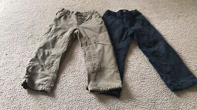 2 Pairs Of Age 3 Boys Vertbaudet Trousers