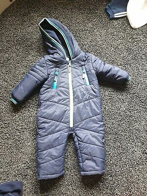 Ted Baker Boys Snow Suit 12 -18 Months
