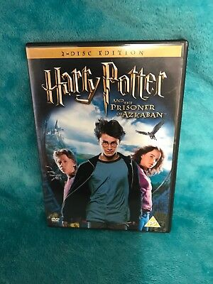 Harry Potter And The Prisoner Of Azkaban (DVD, 2004, 2-Disc Set) With Extras