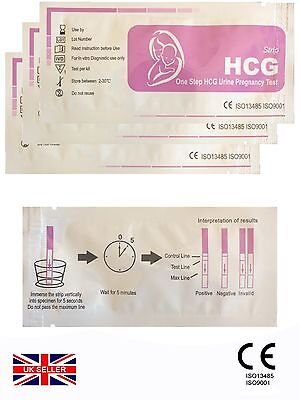 (5x) PREGNANCY TEST / EASY TO USE / GP PROFESSIONAL OR HOME USE
