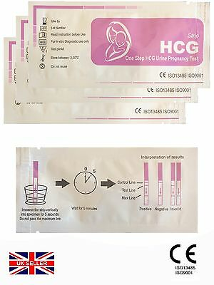 (4x) PREGNANCY TEST / EASY TO USE / GP PROFESSIONAL OR HOME USE