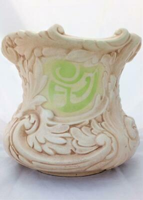 Bretby Art Nouveau  Planter or Jardiniere Leaf Shape 907 Henry Tooth and Co