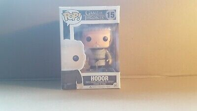 Game of Thrones - Funko Pop! - Hodor - VAULTED and RARE - Damaged box