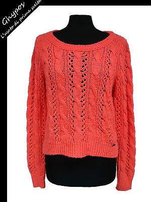 PULL FEMME HOLLISTER Taille M WOMAN'S Sweat Shirt # EUR