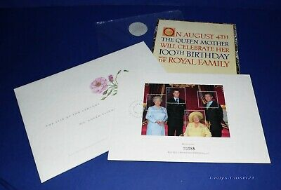 H.M. QUEEN ELIZABETH THE QUEEN MOTHER * Royal Mail The life Of The Century *