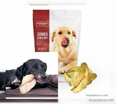 Downtown Pet Supply All Natural Jumbo Cow Ears for Dogs, Healthy Dog Treats...