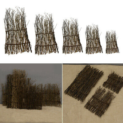 Various Sizes Garden Divider Screening Border Bamboo Slat Willow Reed Fence Roll