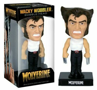 Marvel Comics X-Men Wolverine Funko Bobblehead Wacky Wobbler Figure