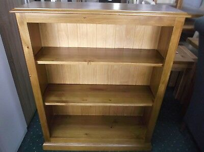 New Solid Antique Pine Bookcase Shelving unit  RRP £239
