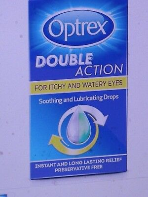 Optrex Double Action for Itchy and Watery Soothing Eyes Drops